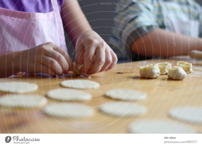 Child Hand Healthy Eating Together Food Living or residing Nutrition Cooking & Baking Delicious Baked goods Dinner Meat Lunch Parenting Dough Self-made