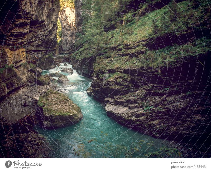 Nature Water Landscape Movement Stone Rock Moody Power Hiking Energy Elements River Sign Climbing Discover Brook