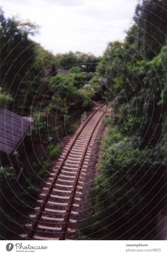 railroad Railroad tracks Lanes & trails Nature