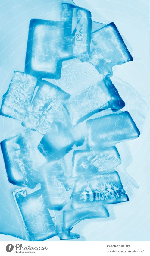 Blue Cold Ice Cool (slang) Frost Express train Cube Ice crystal Ice cube