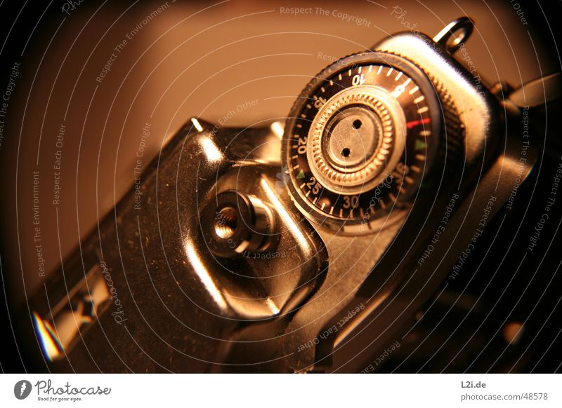 Old Green Red Black Brown Metal Camera Digits and numbers Silver 30 10 20 Release 15 Screw thread 36