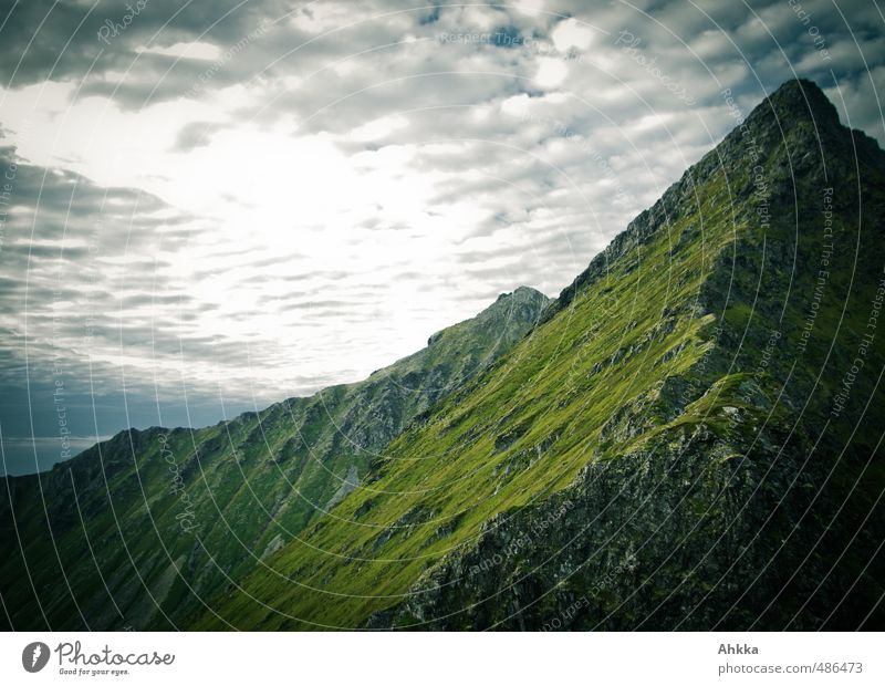Nature Vacation & Travel Old Landscape Far-off places Dark Mountain Freedom Moody Tourism Power Hiking Authentic Perspective Trip Threat