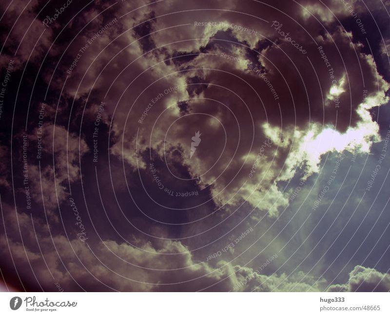 Sky White Sun Blue Clouds Blanket Concealed Filter Bad weather Aperture