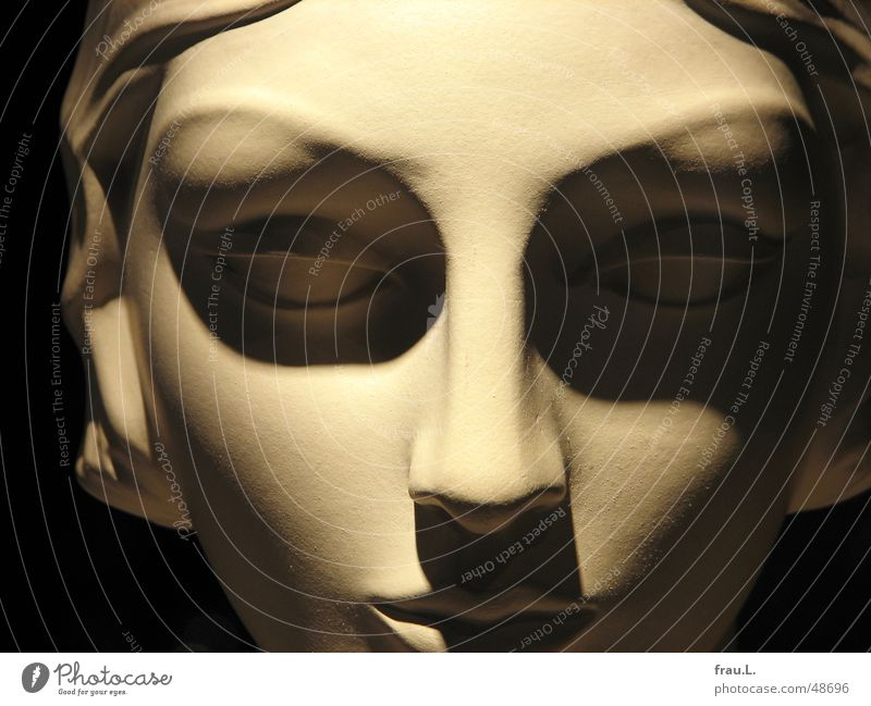 Woman Beautiful Face Eyes Feminine Elegant Decoration Things Doll Sculpture Classic Mannequin Shop window