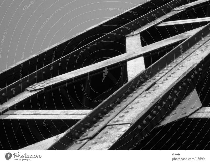 X-Bridge Steel Monochrome Black & white photo