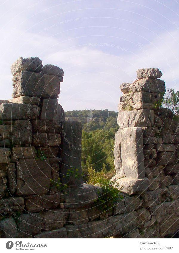ruins Ruins of Phaselis