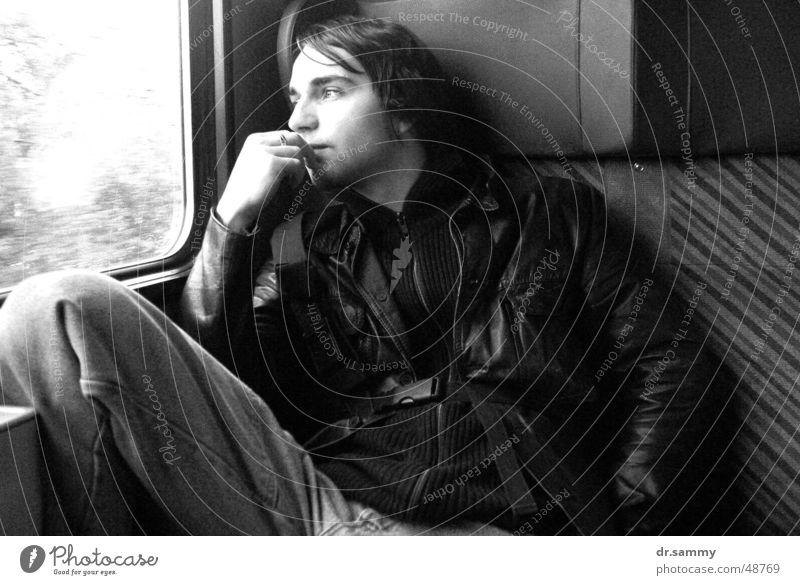 Window Dream Railroad Boredom