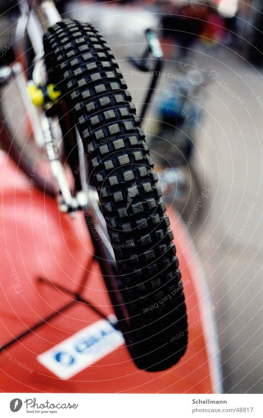 Monty Trial Bike Bicycle Wheel Brakes Silhouette Coat Wheel rim Sports Close-up Profile