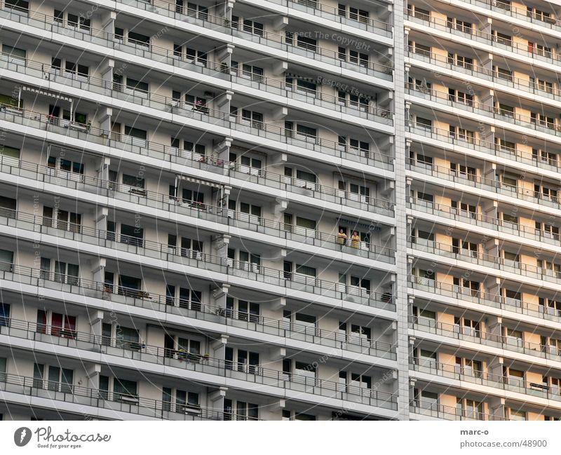 House (Residential Structure) Berlin Line Escape East Prefab construction Salutation