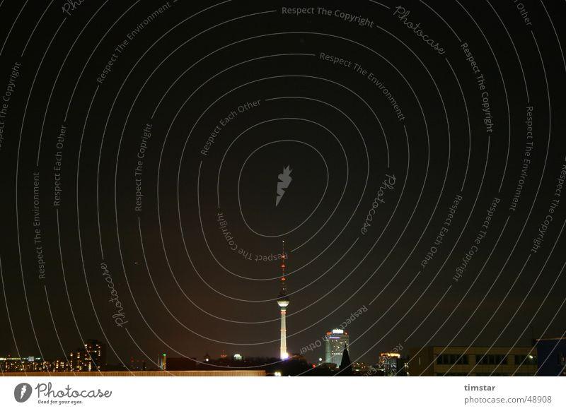 Berlin at night Night Berlin TV Tower tv tower Skyline