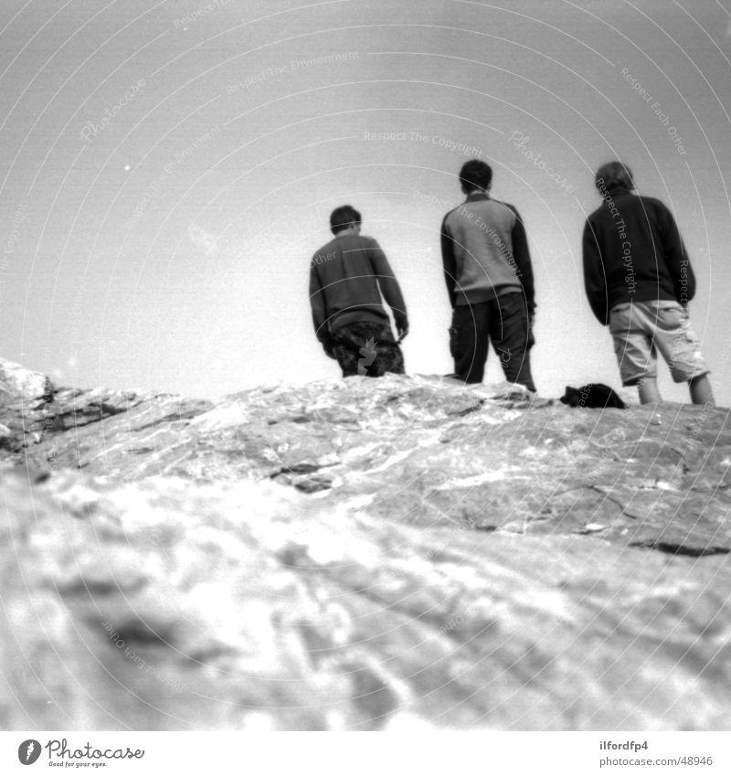 Joy Stone Rock Peak Mountaineering Greece Exhaustion Climbing Mount Olympus