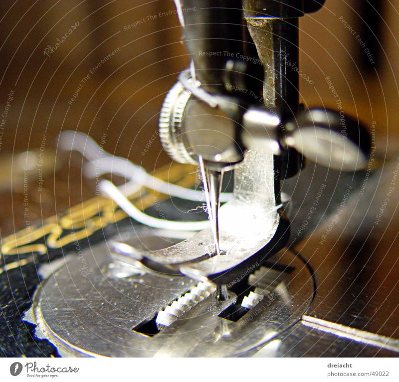 Sewing machine#1 Machinery Old Craft (trade) Detail Needle Sewing thread Handcrafts