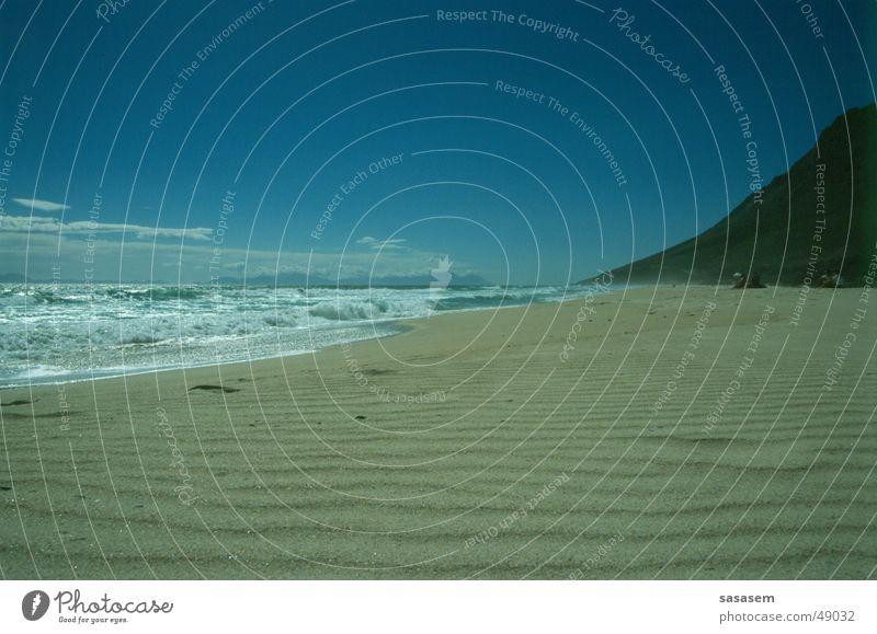 Water Sky Ocean Blue Beach Loneliness Sand