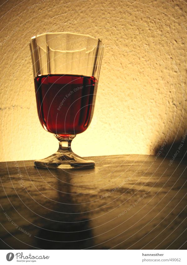 Red Yellow Dark Wall (building) Glass Table Wine Delicious Red wine