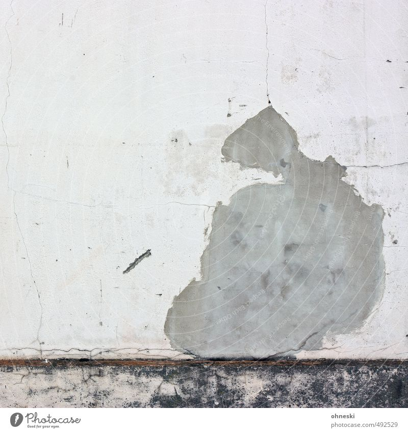 Old Wall (building) Feminine Building Wall (barrier) Facade Change Crack & Rip & Tear Plaster