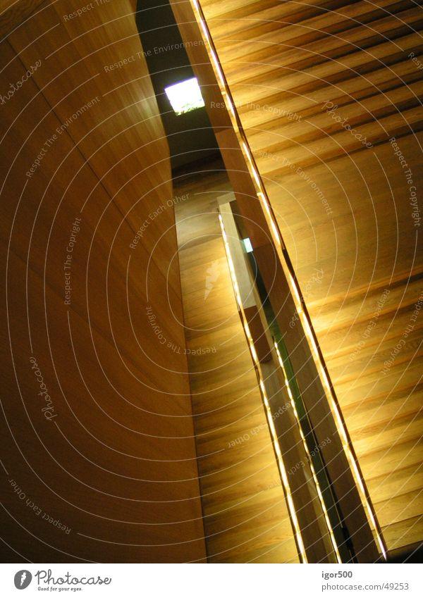 Dark Wood Stairs Leipzig Museum