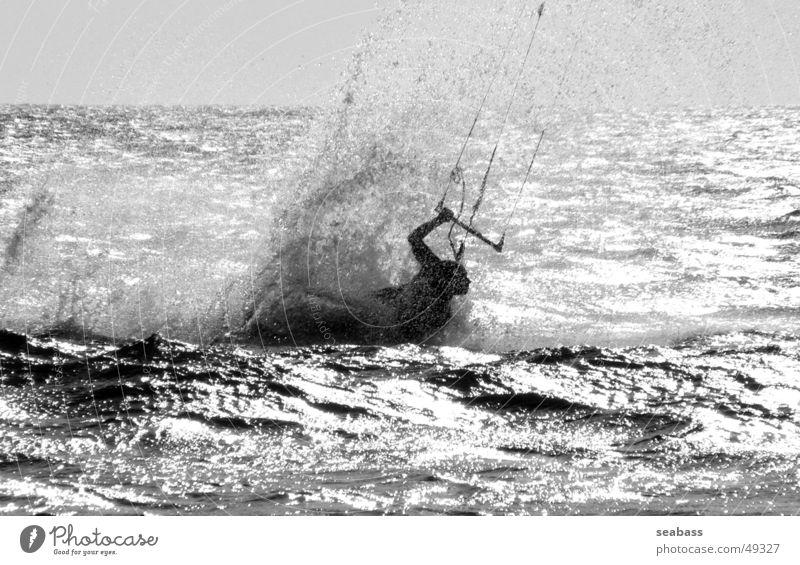 shadow swimmer Kiting Surfing Aquatics Kiter Tarifa Atlantic Ocean