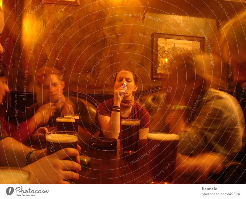 pub Beer Pub Gastronomy Society Human being Yellow Blur Roadhouse Smoke snug Multiple