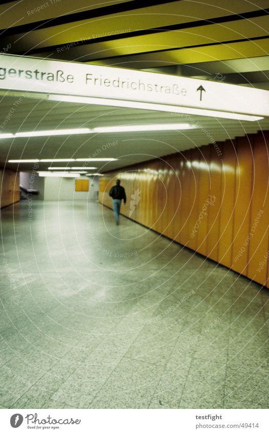 Lighting Railroad Stuttgart London Underground Road marking Commuter trains Symbols and metaphors Underpass Stuttgart central station