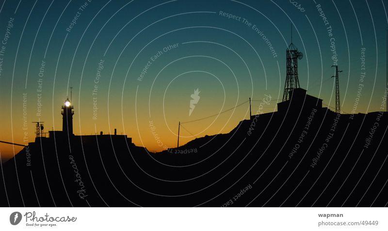 el faro Lighthouse Night Long exposure Cabo de Gata Spain Ocean Sunset Silhouette