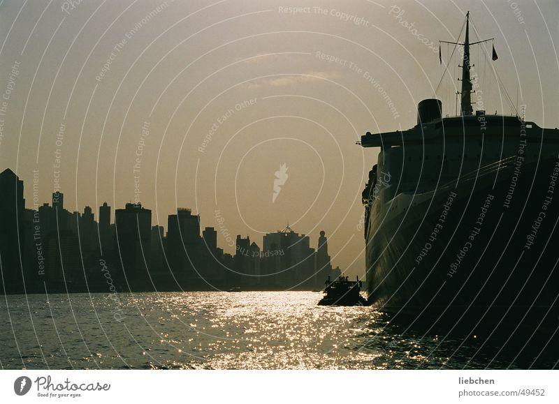 Water City Watercraft 2 China Hongkong Evening sun