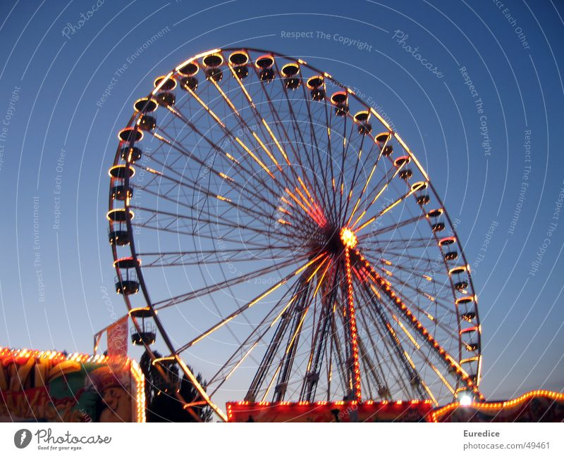 Joy Going Glittering Trip Fairs & Carnivals Markets Dome Quarter Oktoberfest Ferris wheel Going out Shooting match