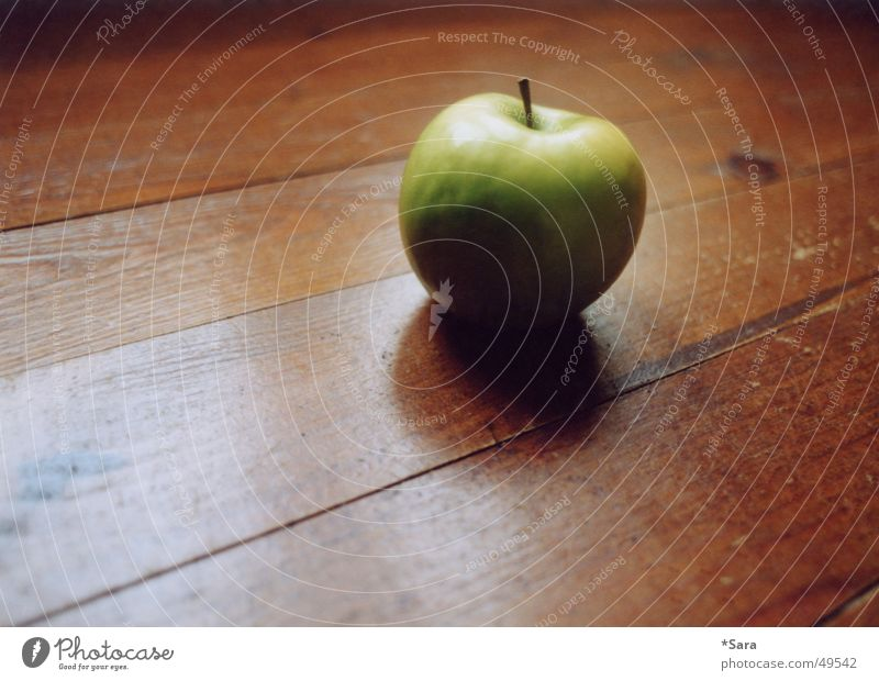 Green Wood Floor covering Apple Healthy Eating Wooden floor Wood grain