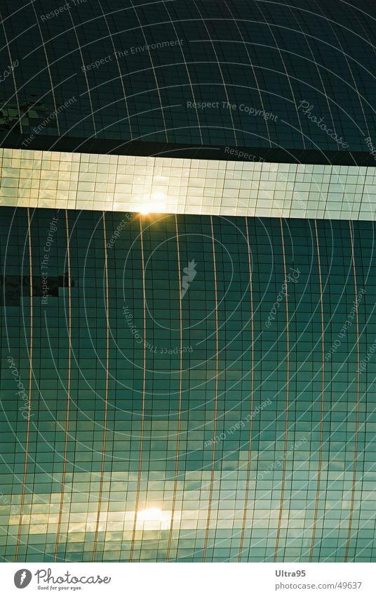 suntrack Facade Reflection Glas facade High-rise Window Bangkok Swimming pool Glass Sun Water Architecture