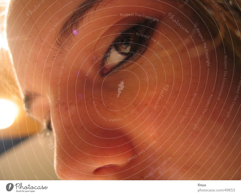 Woman Eyes Feminine