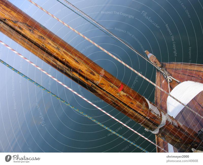 Water Ocean Wood Lake Fog Rope Horizon Sailing Electricity pylon Smoothness Sailboat Yacht Vail Parking level Sport boats