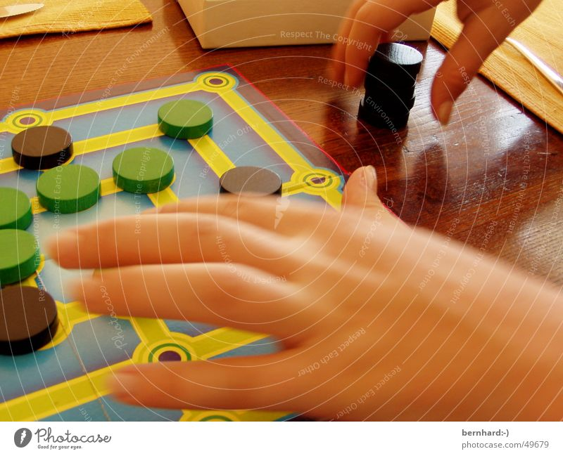 Joy Playing Piece Mill Board game