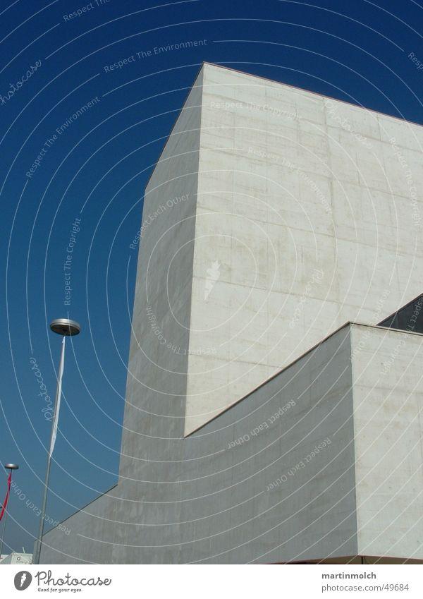 Sky Blue Building Concrete Clarity Trade fair Portugal Lisbon