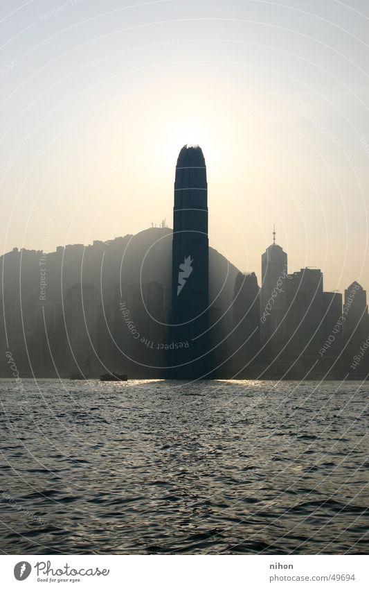 City Work and employment High-rise Modern Tower Hongkong Phallic symbol