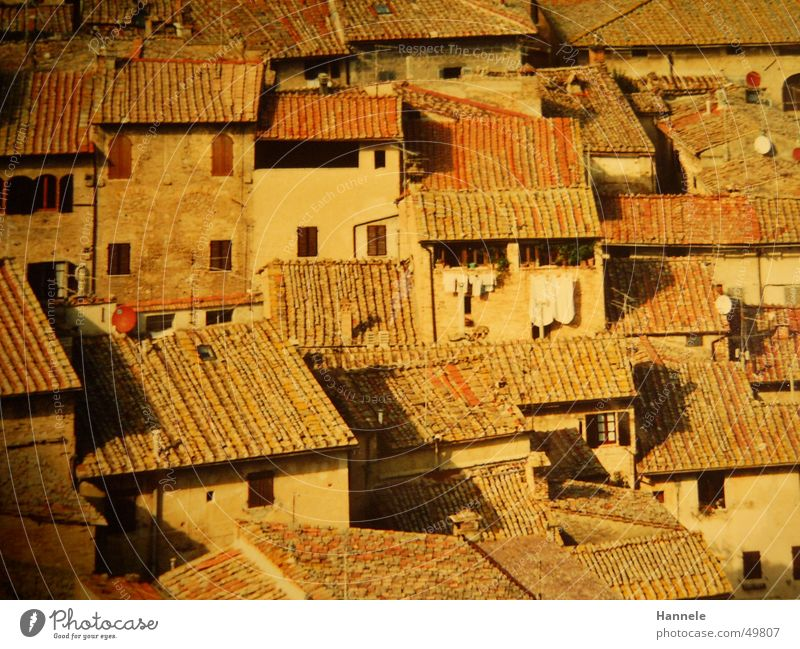Vacation & Travel Above Roof Italy Laundry South Tuscany Roofing tile Siena