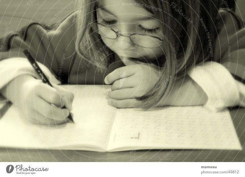 Child Girl School Study Pen Student Effort Magazine Schoolchild Education Homework