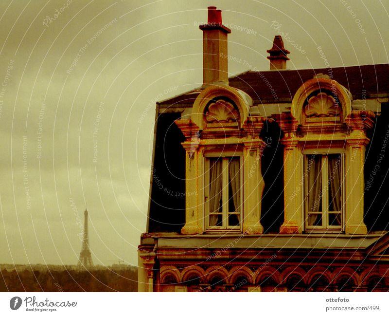 Suresnes near Paris Town Roof Eiffel Tower Architecture