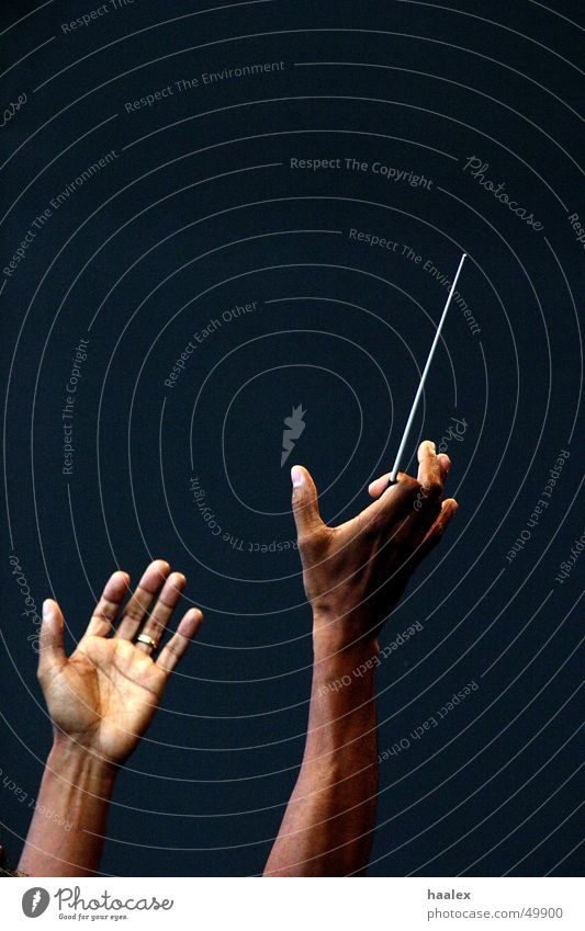 master hands Conductor Vienna Classical Hand concert for europe bobby mcfarin hands with baton tacstock Music open hands