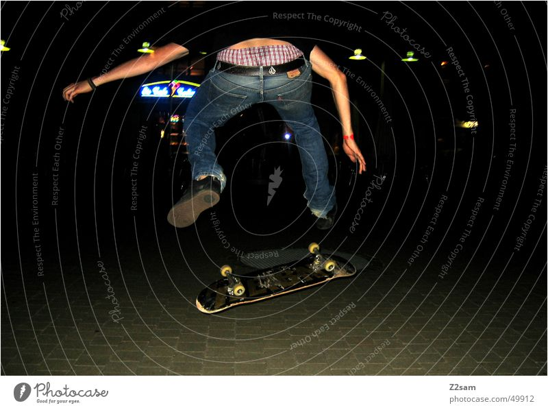 Human being Sports Action Skateboarding Salto Funsport