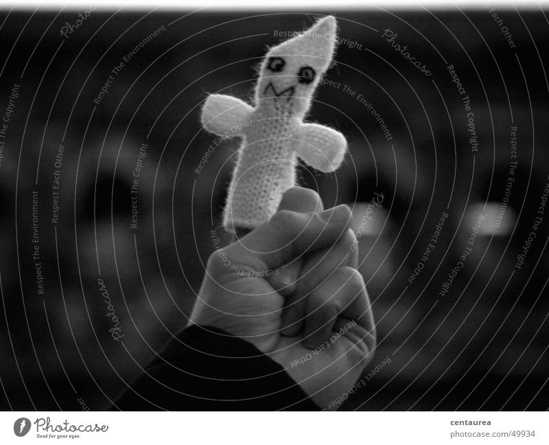 Caspar creepy ghost of Trier Ghosts & Spectres Creepy Eerie Hand Finger puppet Fingers Companion