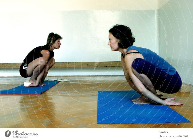 Relaxed Yoga Relaxation Leisure and hobbies Crouching