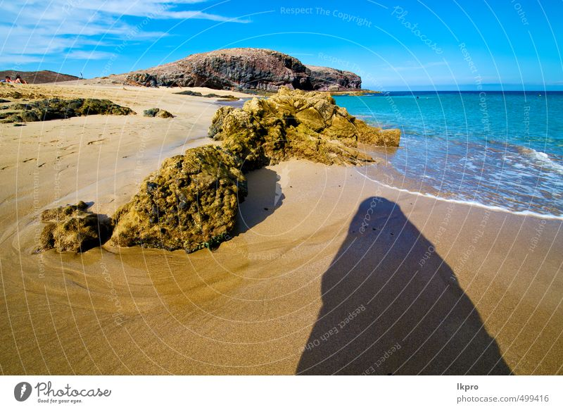 coastline Sky Nature Vacation & Travel Blue Summer Ocean Relaxation Landscape Clouds Beach Black Yellow Coast Stone Sand Rock
