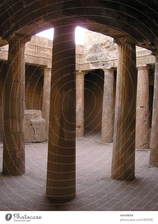 Sun Stone Europe Past Warehouse Column Grave Cyprus Time travel