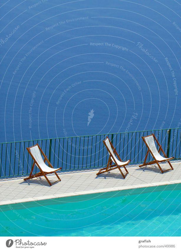 Water Ocean Blue Vacation & Travel Swimming pool Deckchair
