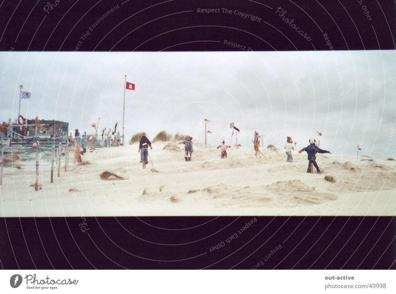 beach people Ocean Island Human being North Sea art?