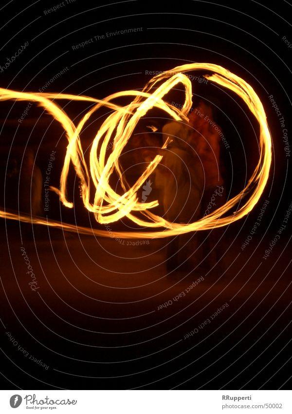 fire magic Night Light Attraction Circle Blaze Movement
