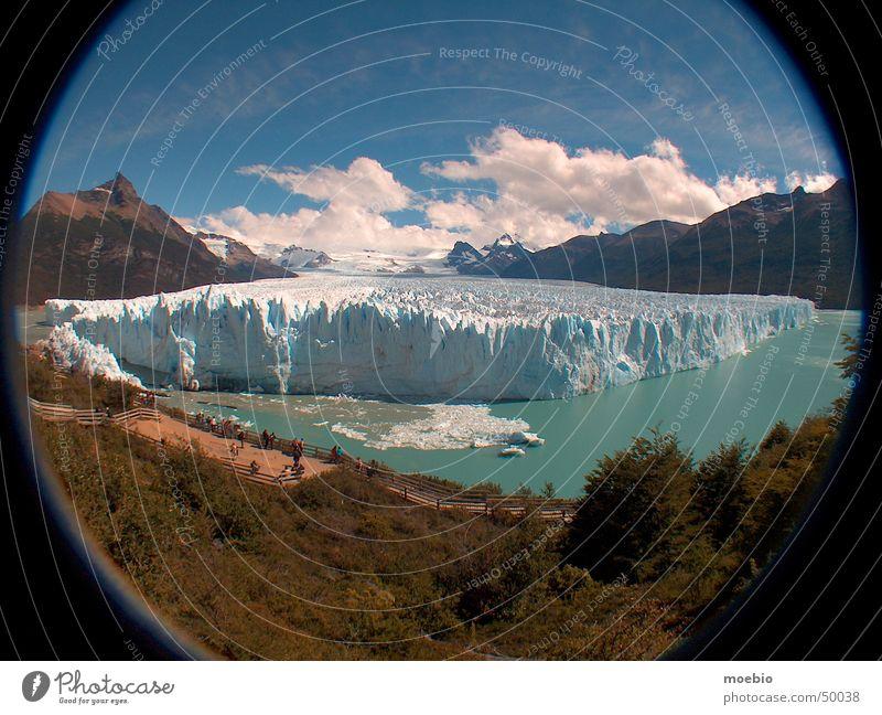 Sky Argentina Americas Express train Patagonia Glacier National park Perito Moreno Glacier