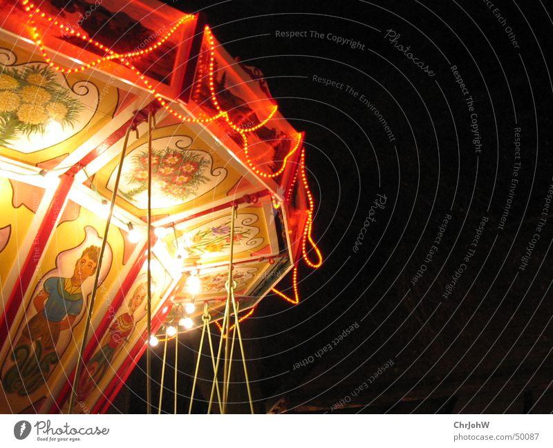 Christmas & Advent Black Lamp Dark Fairs & Carnivals Carousel Christmas Fair