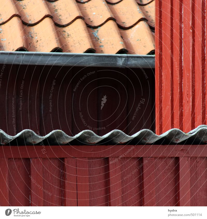 deliberateness Roofing tile Craft (trade) Construction site House (Residential Structure) Hut Barn Extend Wall (barrier) Wall (building) Facade Eaves Paintwork