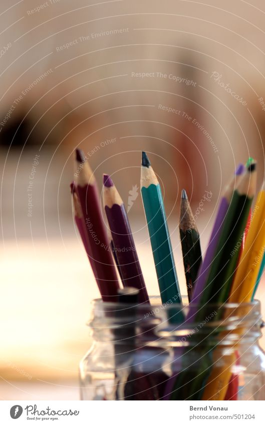 Blue Green White Black Yellow Gray Wood Pink Glass Point Creativity Turquoise Draw Transparent Positive Pen
