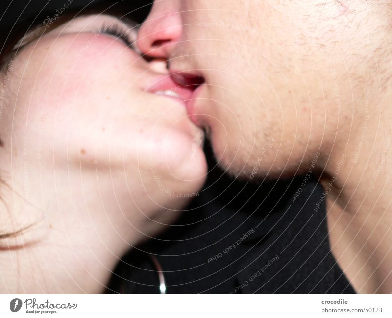 Face Black Eyes Love Hair and hairstyles Sex Skin Kissing Trust Facial hair Tongue